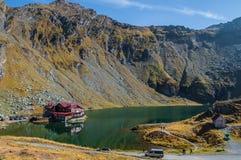 Transfagarasan - lago Balea Foto de archivo