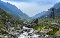 Transfagarasan Stock Photo