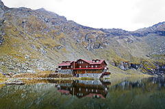 Transfagarasan lodge Stock Photography
