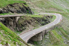Transfagarasan mountain road Stock Photos