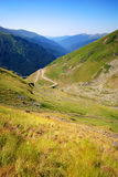 Transfagarasan mountain road, Romania royalty free stock photos
