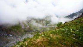 Transfagarasan mountain road from Romania Stock Photography