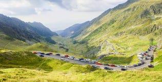 Transfagarasan mountain road in Romania Royalty Free Stock Image