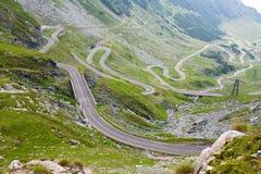 Transfagarasan mountain road. Romanian Carpathians Stock Photos