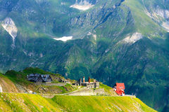 Transfagarasan mountain road Stock Images
