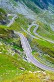 Transfagarasan mountain road Royalty Free Stock Photography