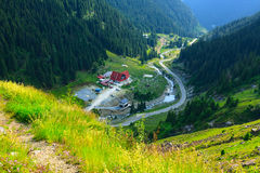 Transfagarasan mountain road Royalty Free Stock Photography