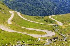 Transfagarasan mountain road Royalty Free Stock Images
