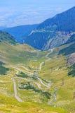 Transfagarasan mountain road Stock Photos