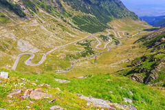 Transfagarasan mountain road Stock Image