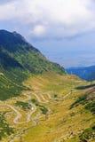 Transfagarasan mountain road Royalty Free Stock Photos