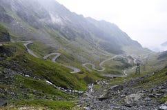 The Transfagarasan mountain road, Romanian Stock Photos