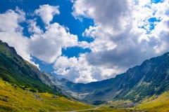 Transfagarasan mountain road, Romanian Carpathians Stock Images
