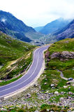 Transfagarasan mountain road, Romanian Carpathians Royalty Free Stock Images
