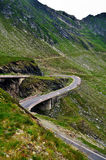 Transfagarasan mountain road, Romanian Carpathians Stock Photography