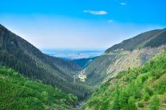 Transfagarasan mountain road, Romanian Carpathians Stock Photo