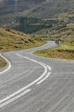 Transfagarasan mountain winding road in Carpathian mountains Stock Photos