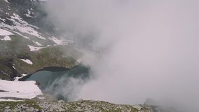 Transfagarasan pass in summer. Crossing Carpathian mountains in Romania, Transfagarasan is one of the most spectacular mountain ro. Ads in the world stock video footage