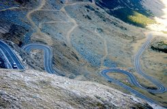 Transfagarasan road Royalty Free Stock Images