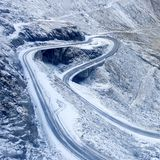 Transfagarasan road Royalty Free Stock Photography