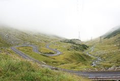 Transfagarasan road 2 stock photos
