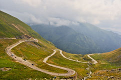 Transfagarasan Road Royalty Free Stock Image