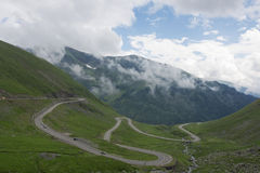 Transfagarasan road Stock Photo