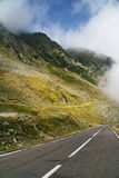 Transfagarasan road Stock Image