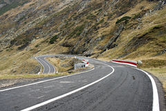 Transfagarasan road - RAW format Royalty Free Stock Photos