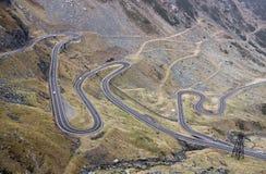 Transfagarasan road - RAW format Stock Images