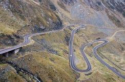 Transfagarasan road - RAW format Royalty Free Stock Photo