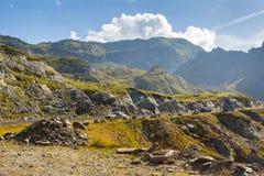 Transfagarasan road landscape Royalty Free Stock Image