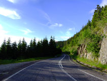 Transfagarasan Road Royalty Free Stock Photo