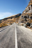 Transfagarasan road in Romania Royalty Free Stock Photo
