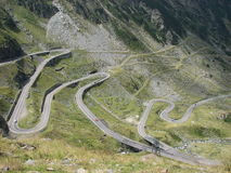 Transfagarasan road Romania Royalty Free Stock Image
