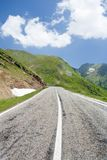 Transfagarasan road in Romania Royalty Free Stock Image