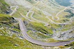 Transfagarasan road in Romania Stock Images