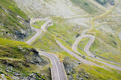 Transfagarasan road in Romania Stock Images