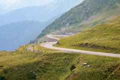 Transfagarasan road in Romania Royalty Free Stock Photos