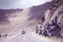 Transfagarasan Road Stock Photography