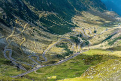Transfagarasan road, Romania Royalty Free Stock Images