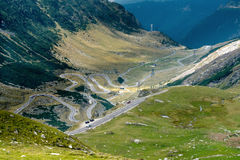 Transfagarasan road, Romania Royalty Free Stock Image