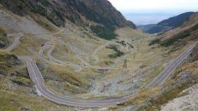 Transfagarasan road, Romania Royalty Free Stock Images