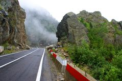 Transfagarasan Road in Romania Stock Photos