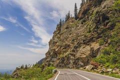 Transfagarasan road, Romania Stock Photography