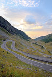 Transfagarasan road, romanian mountain Stock Images