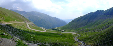 Transfagarasan Road 2 Royalty Free Stock Photos