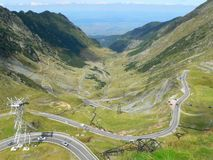 Transfagarasan royalty free stock photos