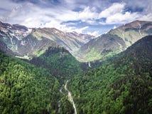 Transfagarasan road trough the Carpathians, Transylvania, Romania royalty free stock photos