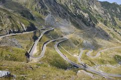 Transfagarasan road view Stock Photo